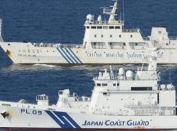 """Tàu Trung Quốc, Nhật Bản """"đối đầu"""" ở vùng biển tranh chấp"""