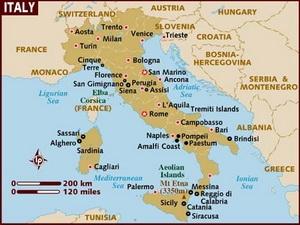 Italia giảm gần một nửa số tỉnh trên cả nước do khủng hoảng
