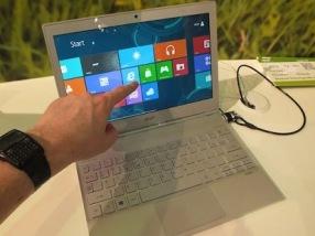 Laptop màn hình cảm ứng đến thời bùng nổ?
