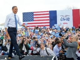 Obama dẫn điểm tại 2 bang then chốt Ohio, Florida