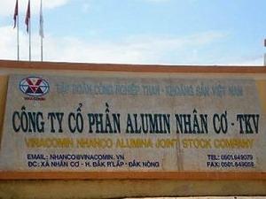 Tính toán lại hiệu quả nhà máy alumin Nhân Cơ