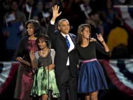 Chùm ảnh người dân thế giới ăn mừng chiến thắng của Obama