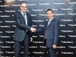 Đơn vị thành viên của PET trở thành nhà phân phối điện thoại BlackBerry