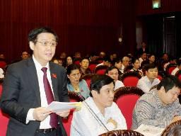 Sáng nay, Quốc hội biểu quyết thông qua kế hoạch phát triển kinh tế 2013