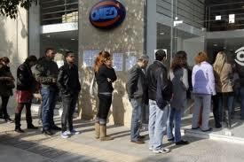 Hy Lạp thất nghiệp cao kỷ lục 25,4%