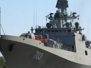 Hải quân Nga bàn giao chiến hạm Tarkash cho Ấn Độ