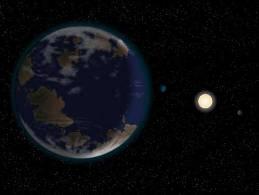 Phát hiện siêu trái đất ở khoảng cách cực gần