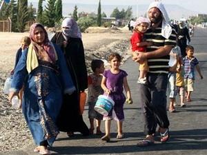 11.000 người chạy khỏi Syria trong 1 ngày