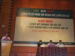 DLG phản hồi về kiến nghị ngừng xây Thủy điện Đồng Nai 6 và Đồng Nai 6A