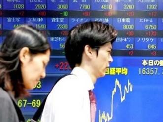 Chứng khoán châu Á giảm sau số liệu GDP Nhật Bản
