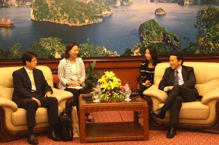 Hàn Quốc muốn hợp tác với Quảng Ninh trong lĩnh vực du lịch
