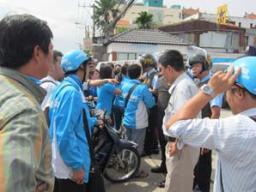 Xung đột tại trụ sở công ty lớn nhất Việt Nam theo mô hình groupon Nhóm Mua