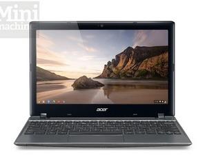 Google ra mắt mẫu máy tính Chromebook Acer C7