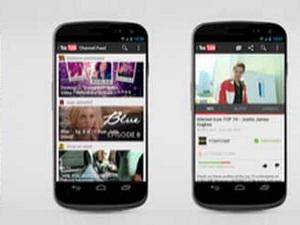 Cập nhật ứng dụng YouTube trên nền tảng Android