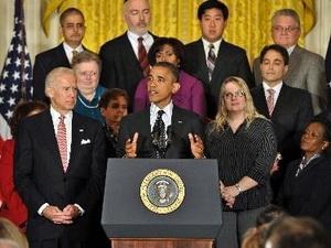 Ông Obama họp báo lần đầu từ sau khi tái đắc cử
