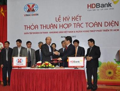 Vinacomin và HDBank ký kết hợp tác toàn diện