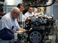 Sản lượng công nghiệp eurozone giảm mạnh nhất 4 năm