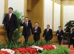 Trung Quốc công bố thành viên thường vụ Bộ chính trị