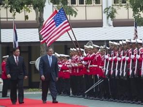 Thái Lan, Mỹ củng cố quan hệ liên minh quốc phòng
