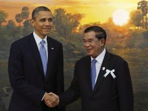 Mỹ - Campuchia tăng cường quan hệ song phương