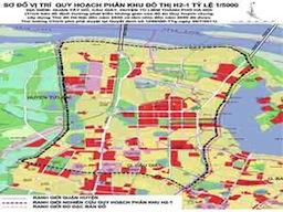 Thiết lập không gian đô thị mới hiện đại trên trục Hồ Tây, Cổ Loa