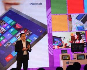 Hơn 1.000 thiết bị cài sẵn Windows 8 đã ra mắt