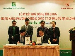 Ngân hàng Phương Đông tài trợ vốn cho dự án của Nam Long và Hà Đô