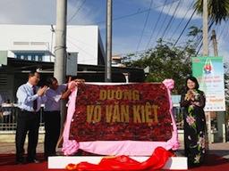 Vĩnh Long khánh thành đường Võ Văn Kiệt