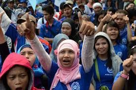 Jakarta tăng 40% lương tối thiểu