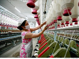 Lợi nhuận công nghiệp Trung Quốc tăng 20,5% trong tháng 10