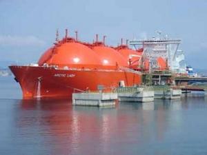 Xuất khẩu khí hóa lỏng của Nga tăng mạnh