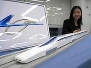 Nhật Bản ra mắt tàu điện từ siêu tốc không bánh