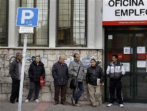 OECD: Tỷ lệ thất nghiệp Tây Ban Nha 2013 sẽ tăng cao kỷ lục