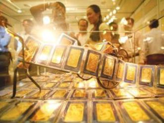 Vàng lên 47,2 triệu đồng/lượng