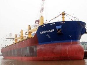 Vận tải đường biển toàn cầu tăng kỷ lục năm 2011