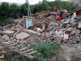 Động đất mạnh ở Iran làm 8 người thiệt mạng