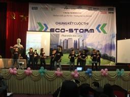 Đội Mầm Xanh chiến thắng tại cuộc thi Eco-Storm 2012