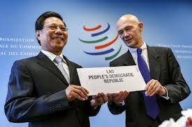 Quốc hội Lào phê chuẩn thủ tục gia nhập WTO