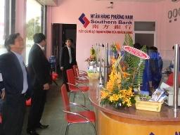 Southernbank hợp nhất thu nhập lãi thuần âm 204 tỷ đồng quý III/2012
