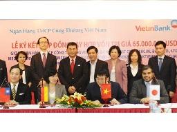 VietinBank vay 65 triệu USD từ 4 ngân hàng quốc tế