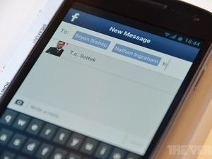 Facebook ra ứng dụng nhắn tin miễn phí cho Android