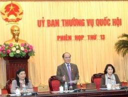 Tổ chức hai lần chất vấn và trả lời chất vấn tại phiên họp của Uỷ ban Thường vụ Quốc hội 2013