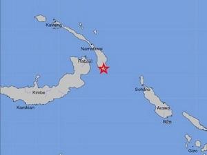 Động đất mạnh 6,3 độ richter rung chuyển Papua New Guinea