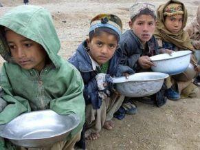 2 triệu người Afghanistan có nguy cơ đói rét, bệnh tật
