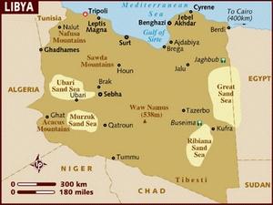 Libya đóng cửa biên giới với 4 nước láng giềng