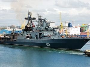 Nga triển khai tàu chiến tới Địa Trung Hải