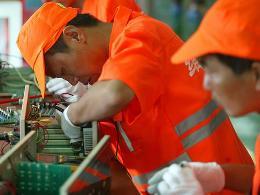 Trung Quốc tạo hơn 12 triệu việc làm trong năm 2012