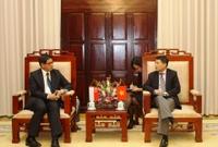 Singapore quan tâm đến hoạt động ngân hàng Việt Nam