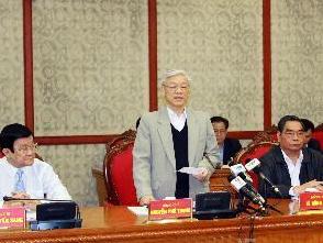 Bộ Chính trị cho ý kiến tổng kết Nghị quyết Trung ương 5 khóa IX