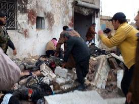Syria: Không kích dữ dội nhất từ khi nội chiến nổ ra